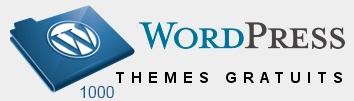 1000 Thèmes WordPress